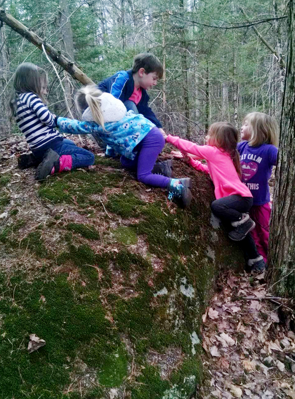 preschool outdoor exploration