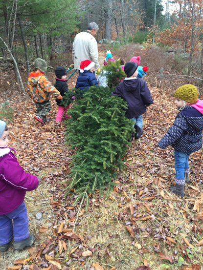 outdoor preschool group